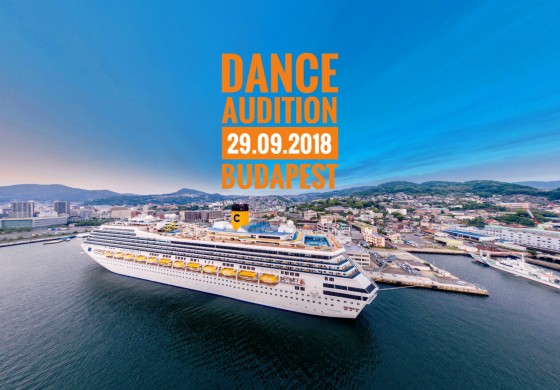 Dance Audition! BUDAPEST 2018 09.29.