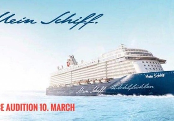 Dance Audition TUI Cruises 10th March 2020 Budapest