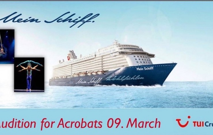 Acrobats Audition TUI Cruises 09th March 2020 Budapest
